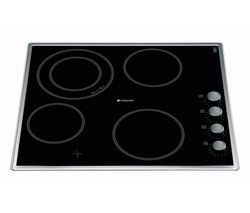 HOTPOINT CRM641DX Ceramic Hob - Black