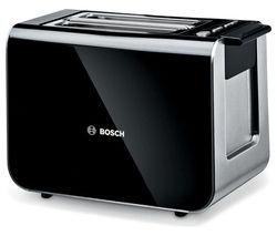 BOSCH Styline TAT8613GB 2-Slice Toaster - Black
