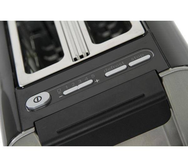 buy bosch styline tat8613gb 2 slice toaster black free. Black Bedroom Furniture Sets. Home Design Ideas