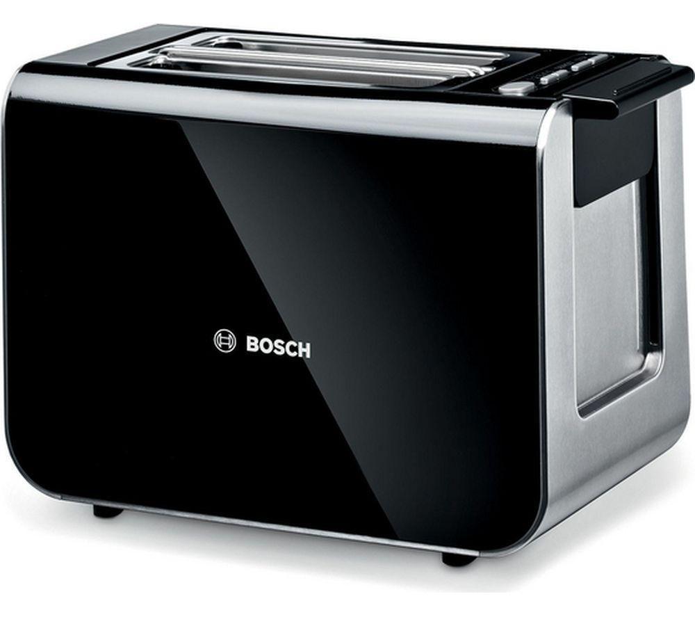 2 Slice Toaster ~ Buy bosch styline tat gb slice toaster black free
