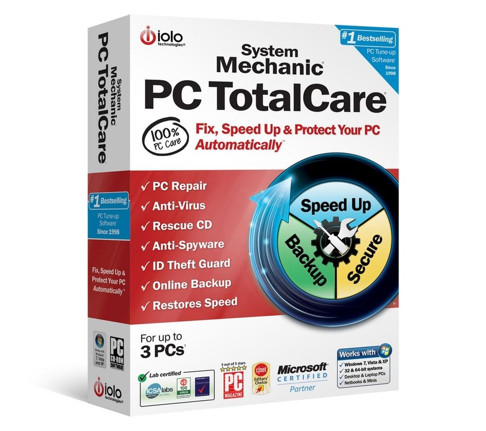 IOLO System Mechanic 10: PC TotalCare