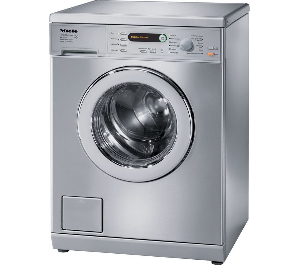 buy miele w5748 ss washing machine stainless steel. Black Bedroom Furniture Sets. Home Design Ideas