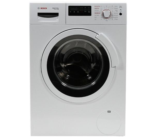 buy bosch exxcel wvh28360gb washer dryer white free. Black Bedroom Furniture Sets. Home Design Ideas