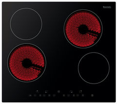 BAUMATIC BHC605 Electric Ceramic Hob - Black