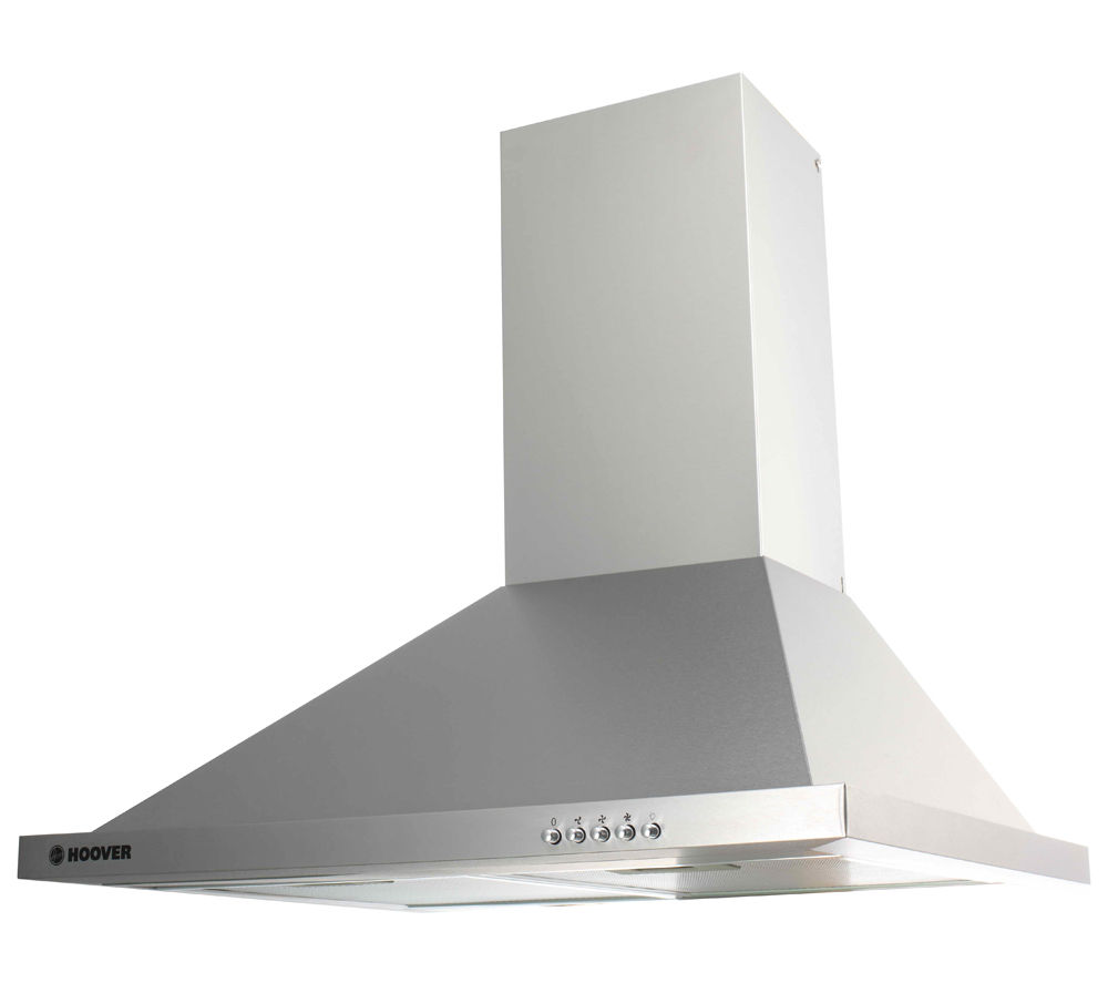 HOOVER HECH616/X Chimney Cooker Hood - Stainless Steel