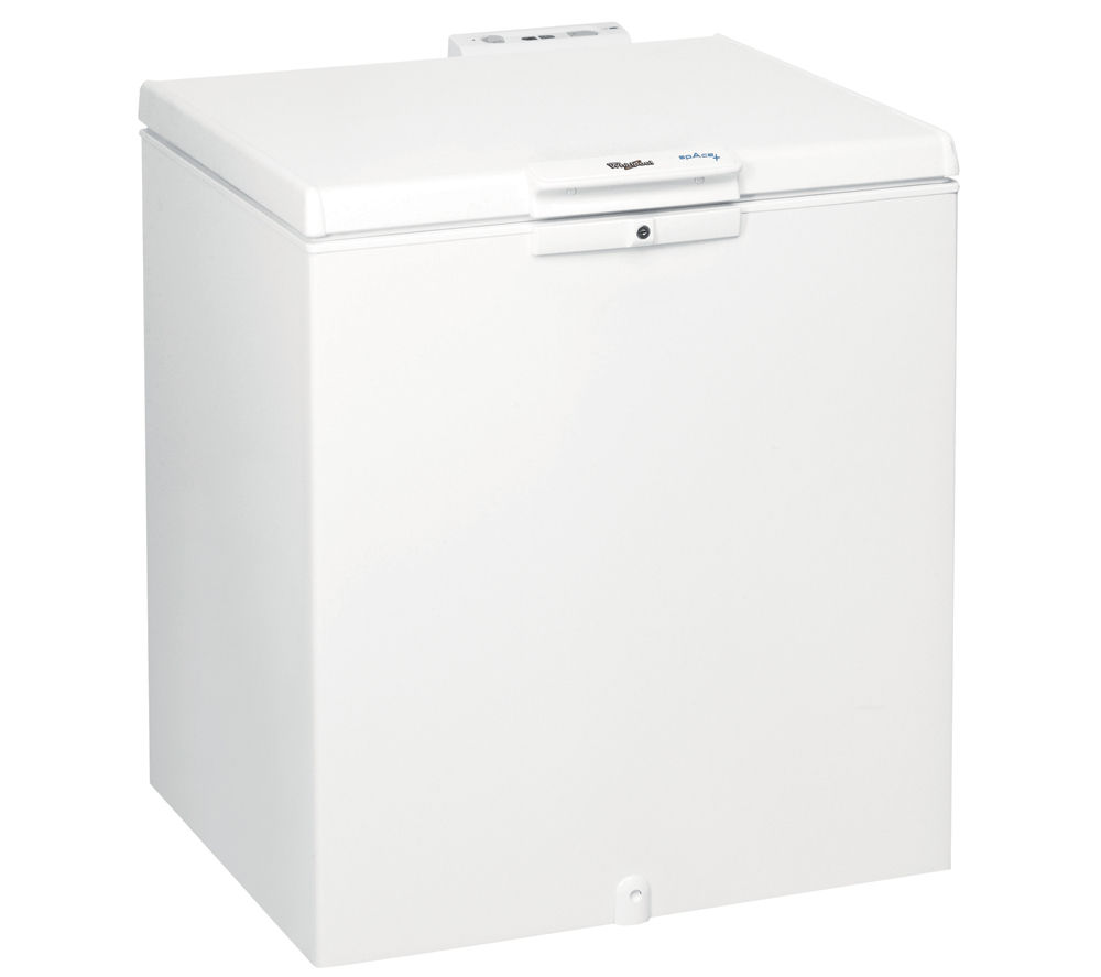 Buy Whirlpool Wh2010 Chest Freezer White Free Delivery