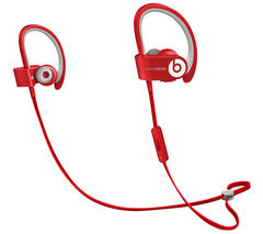 Beats by Dr. Dre PowerBeats 2 Wireless In-Ear Headphones (Red) - Refurbished
