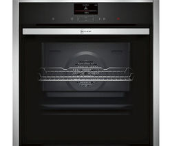 NEFF B47CS34N0B Slide & Hide Electric Oven - Stainless Steel