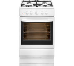 ESSENTIALS CFSGWH15 50 cm Gas Cooker - White