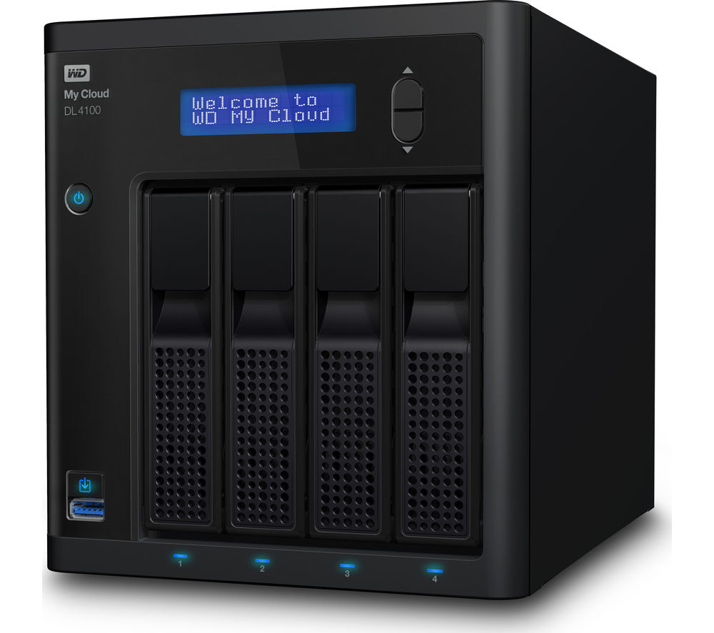 WD Diskless My Cloud DL4100 Business Series 4-Bay Network Attached Storage