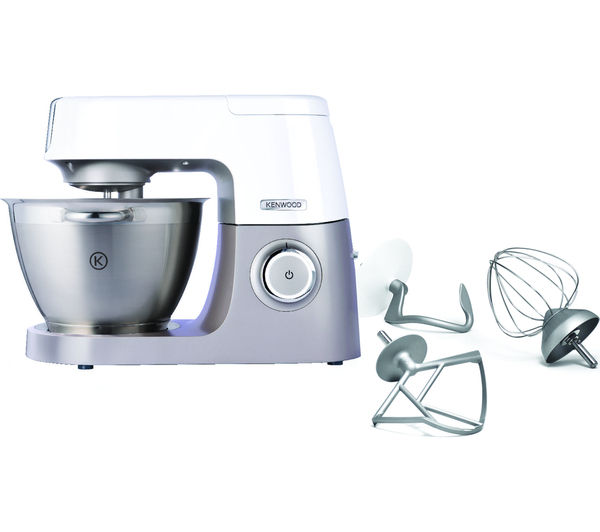 buy kenwood chef sense kvc5000t stand mixer stainless steel free delivery currys. Black Bedroom Furniture Sets. Home Design Ideas