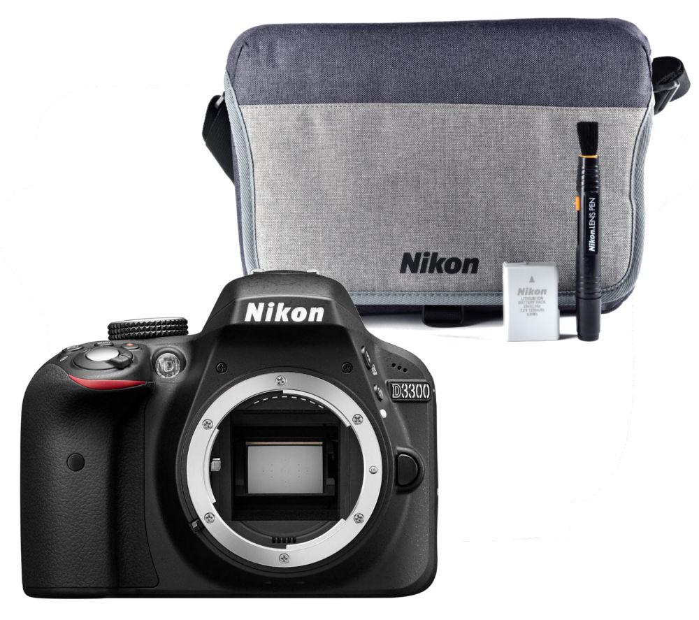 nikon d3300 dslr camera accessory kit bundle deals pc. Black Bedroom Furniture Sets. Home Design Ideas