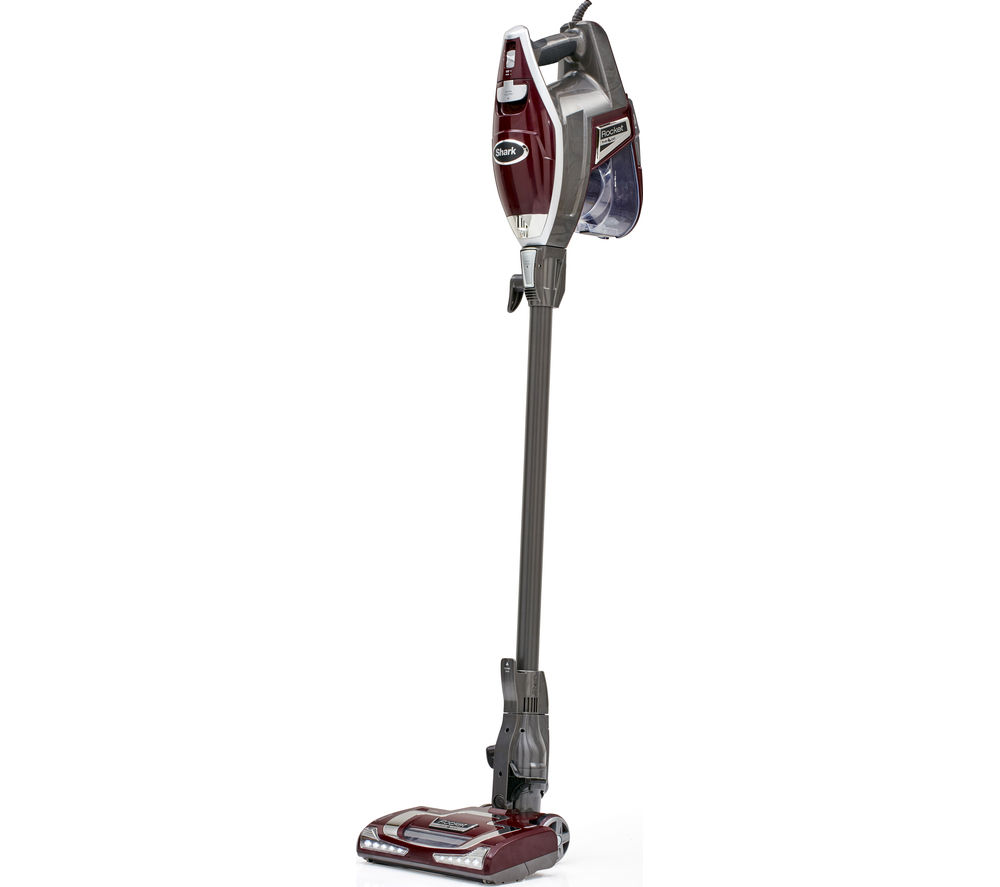 SHARK Rocket HV320UKT Upright Bagless Vacuum Cleaner - Silver