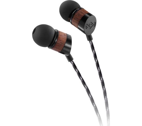 EM-JE031-MI - HOUSE OF MARLEY Uplift V2 Headphones - Black