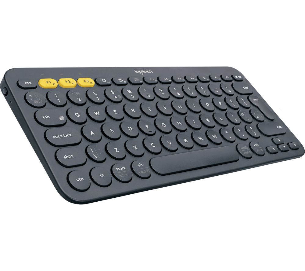 LOGITECH K380 Wireless Keyboard - Dark Grey