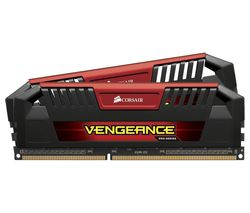 CORSAIR Vengeance Pro Red DDR3 PC Memory - 2 x 8 GB DIMM RAM
