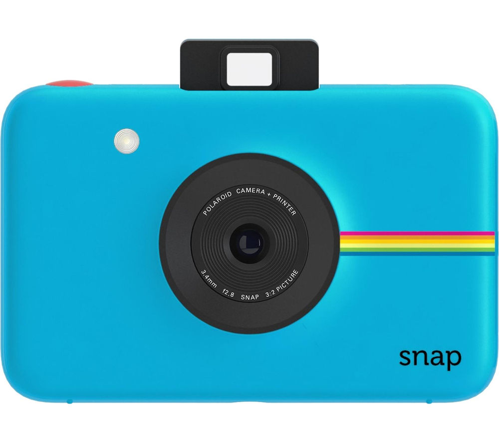 Buy Polaroid Snap Instant Camera Blue Free Delivery