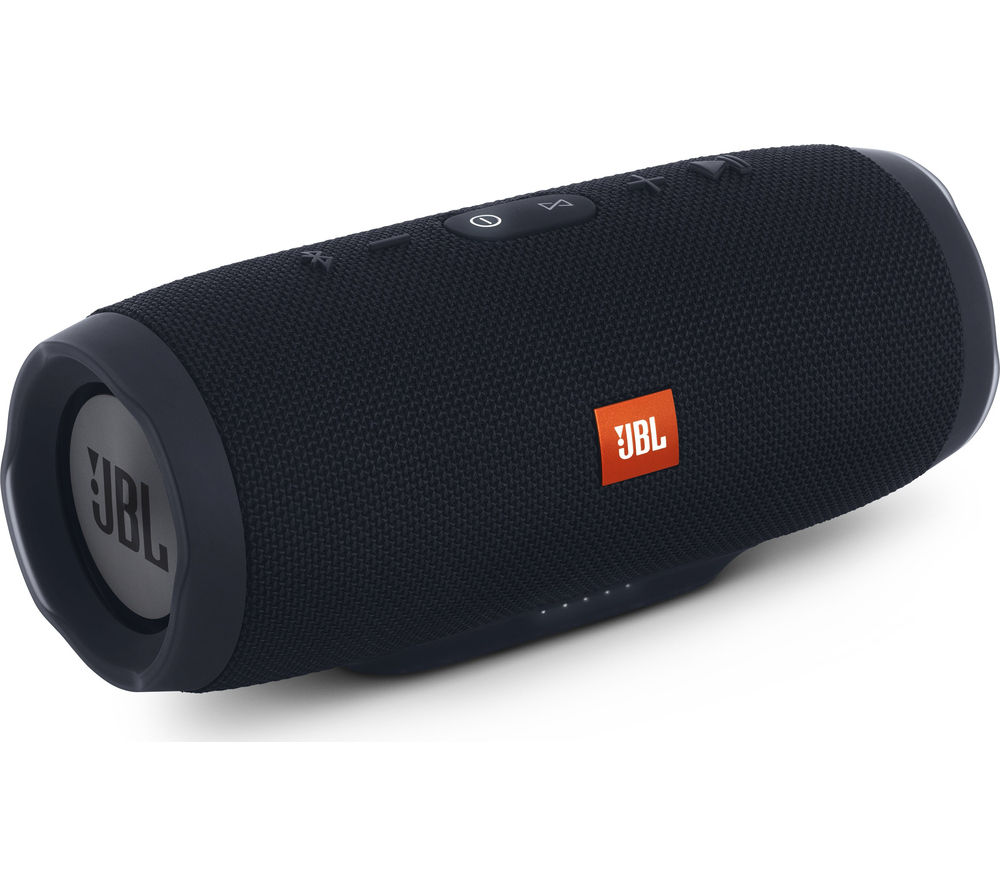 Click to view more of JBL  Charge 3 Portable Wireless Speaker - Black, Black