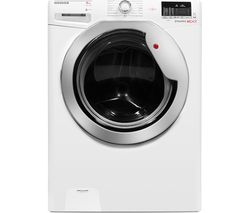 HOOVER Dynamic One Touch DXOC48C3 Smart Washing Machine - White