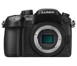 PANASONIC Lumix G DMC-GH4R Compact System Camera - Black, Body Only