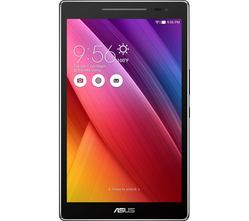 "ASUS ZenPad Z380M 8.0"" Tablet - 16 GB, Grey + LiveSafe Unlimited 2017 - 1 year"