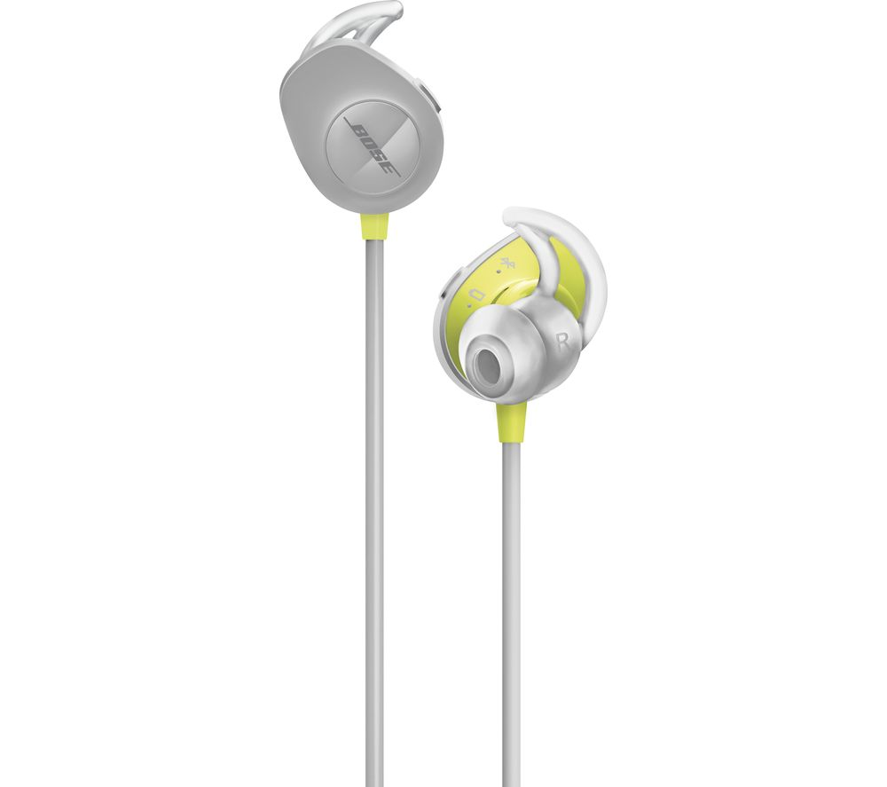 BOSE SoundSport Wireless Bluetooth Headphones - Black & Yellow