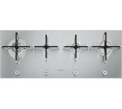 SMEG Linea PX140 Gas Hob - Stainless Steel
