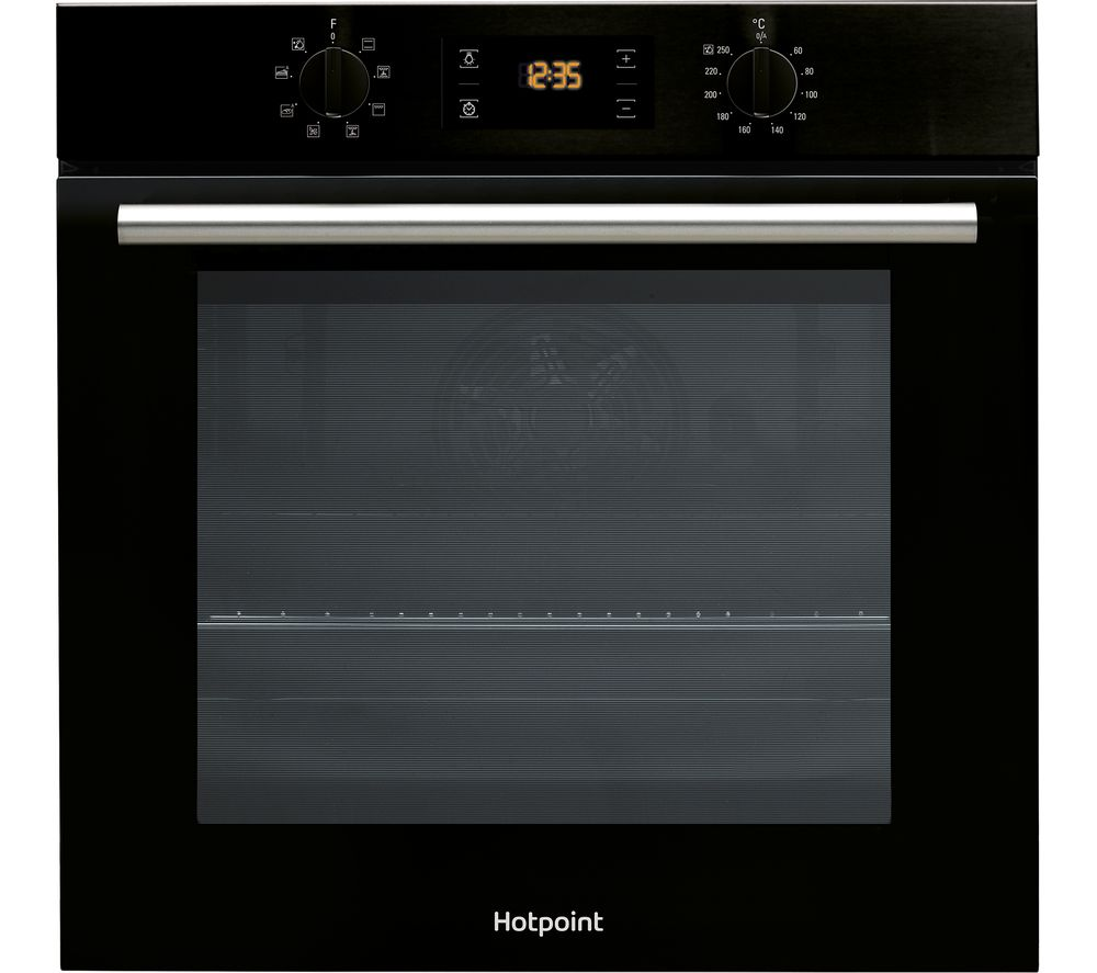 HOTPOINT Class 2 SA2540HBL Electric Oven – Black