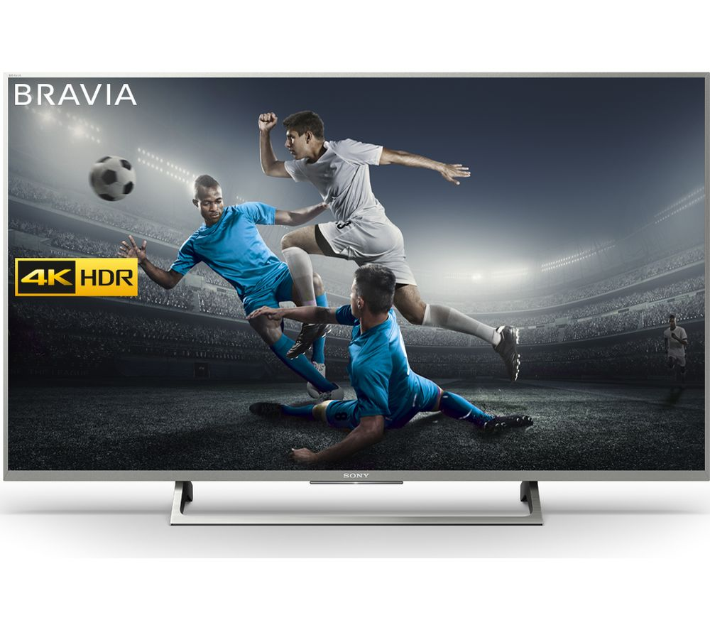buy sony bravia kd43xe8077su 43 smart 4k ultra hd hdr led tv free delivery currys. Black Bedroom Furniture Sets. Home Design Ideas