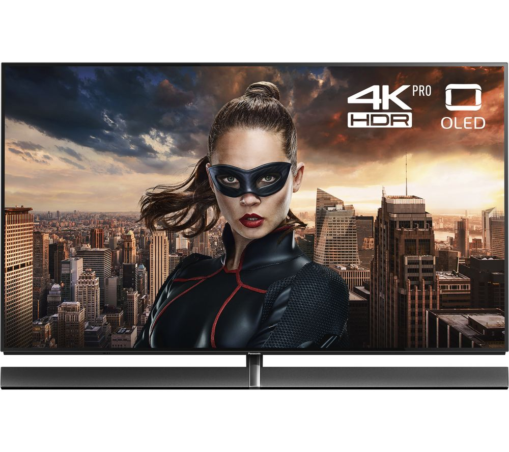 "PANASONIC TX-65EZ1002B 65"" Smart 4K Ultra HD HDR OLED TV + SFLEZ14 Medium to Large Fixed TV Bracket"