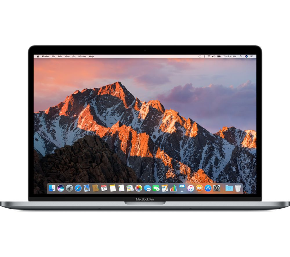"Apple Macbook Pro 15"" With Touch Bar - Space Grey (2017), Grey."