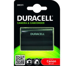 DURACELL DRC511 Lithium-ion Rechargeable Camera Battery