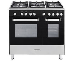 KENWOOD CK405 Dual Fuel Range Cooker - Black