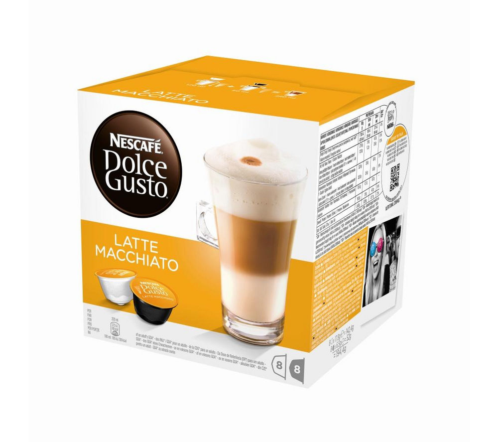 NESCAFE  Dolce Gusto Latte Macchiato  Pack of 8