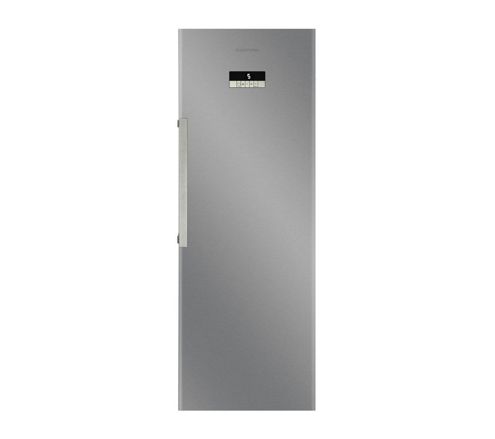 GRUNDIG GSN10720X Tall Fridge - Stainless Steel