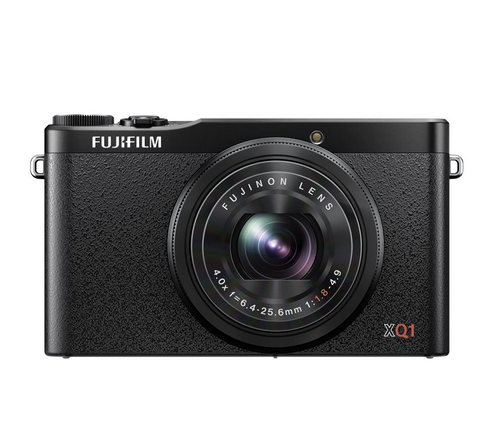FUJIFILM XQ1 High Performance Compact Digital Camera - Black