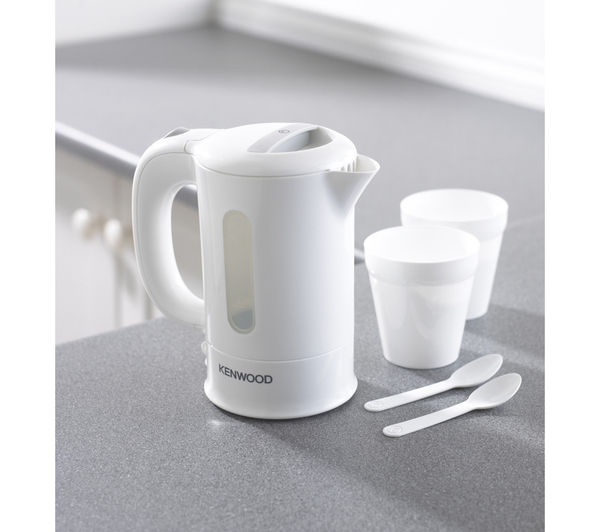 Buy KENWOOD JKP250 Travel Kettle - White : Free Delivery : Currys