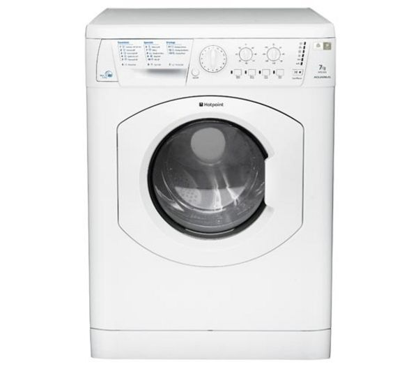 HOTPOINT  Aquarius WDL540P.C Washer Dryer - White +  Aquarius FDAL11010P Full-size Dishwasher - White