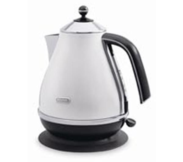 DELONGHI Micalite KB03001-PW Jug Kettle - White