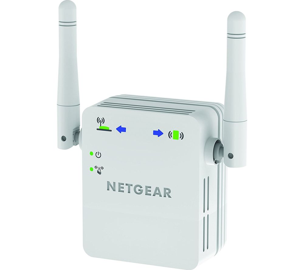 buy netgear wn3000rp 200uks wifi range extender n300 single band free delivery currys. Black Bedroom Furniture Sets. Home Design Ideas