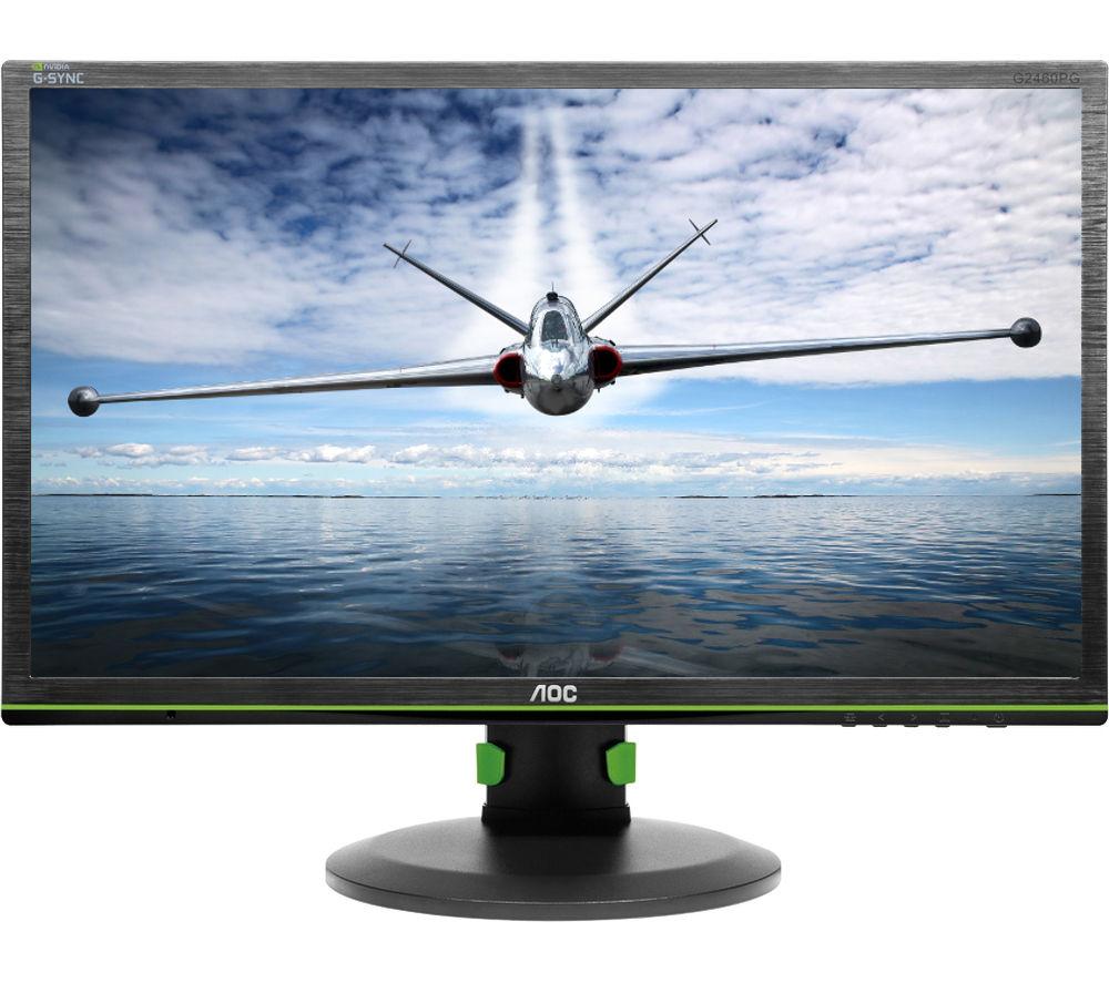 "AOC G-Sync G2460Pg Full HD 24"" LED Gaming Monitor"