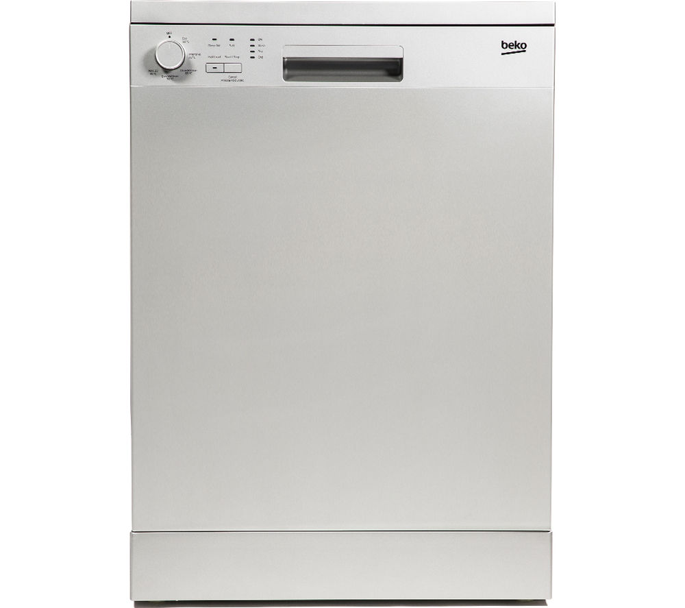 BEKO  DFN05X10S Full-size Dishwasher - Silver +  WM62125W Washing Machine - White