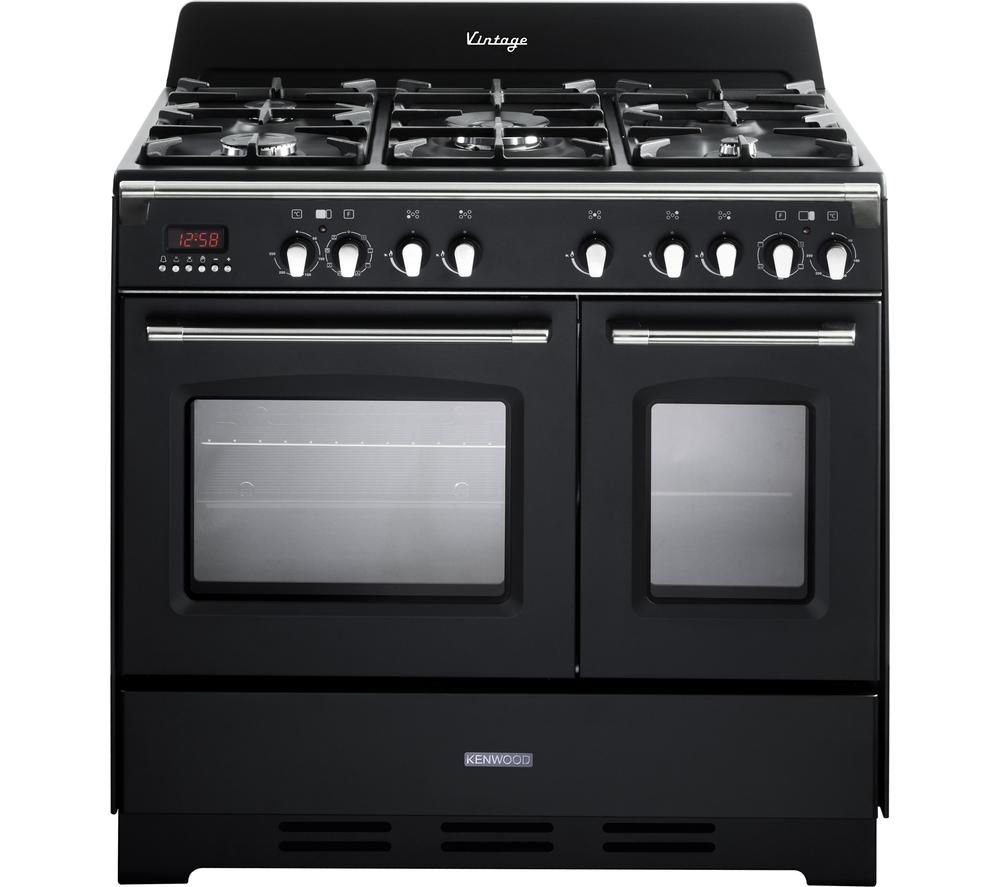 KENWOOD CK425-AN 90 cm Dual Fuel Range Cooker - Anthracite