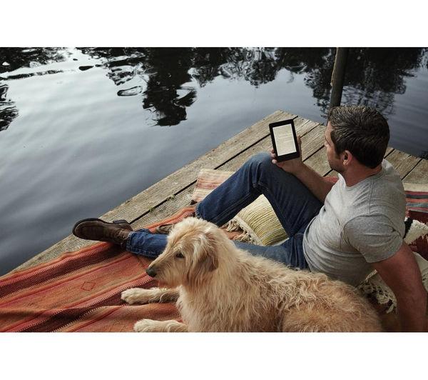 Kindle Paperwhite eReader + GKNTRE15 Kindle Case - Red