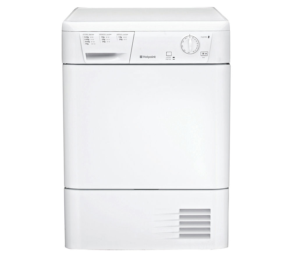 Hotpoint FETC70CP Condenser Tumble Dryer - White, White