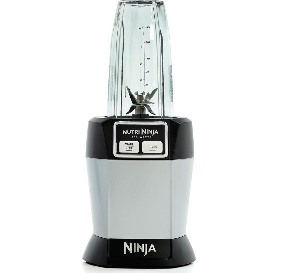 Ninja Nutri BL470UK 900W Blender - Black & Grey