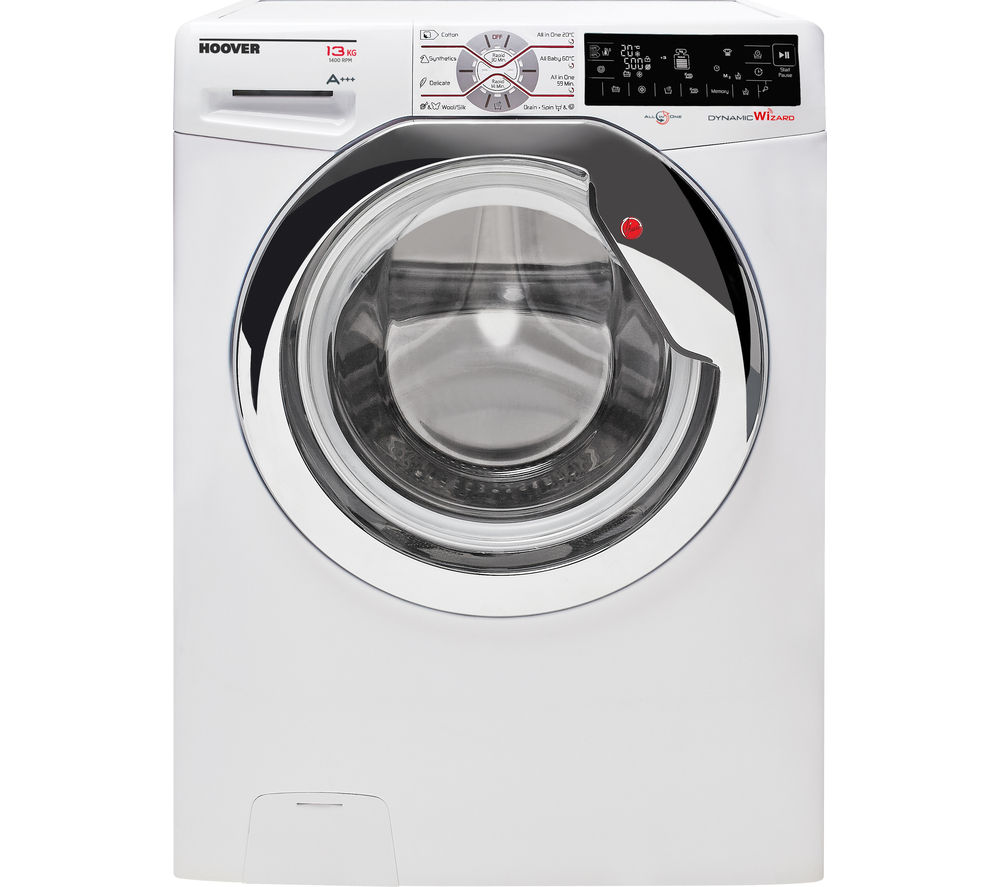 HOOVER Wizard DWTL413AIW3 Smart Washing Machine - White
