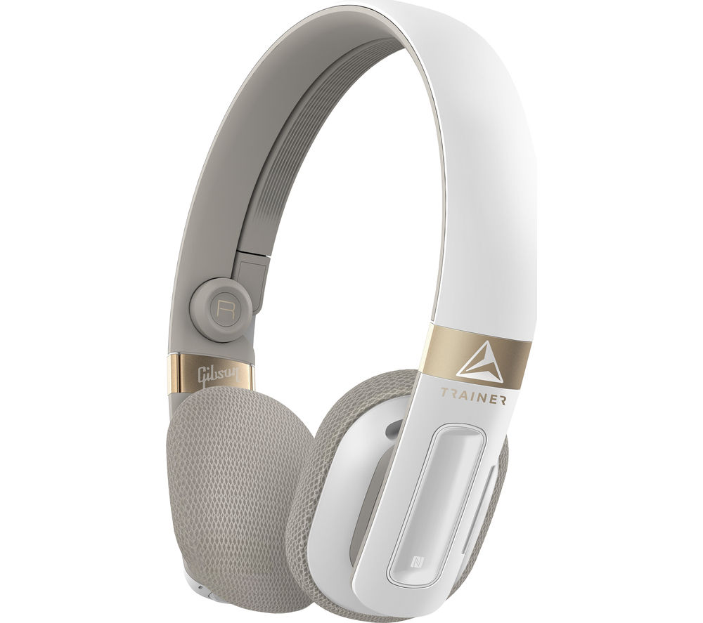 Click to view more of GIBSON TRAINER  TH100W/00 Wireless Bluetooth Headphones - White, White