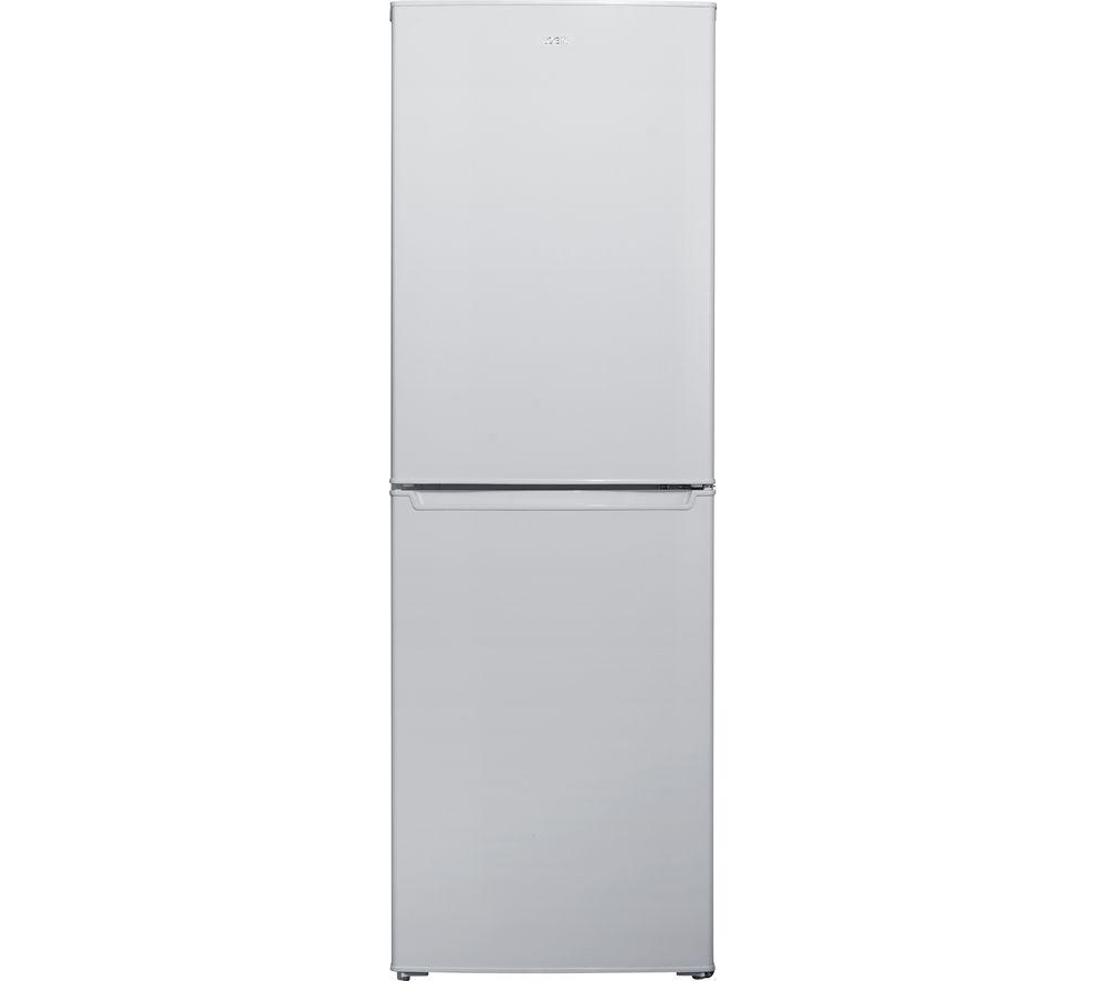 LOGIK  LFC55S16 Fridge Freezer  Silver Silver