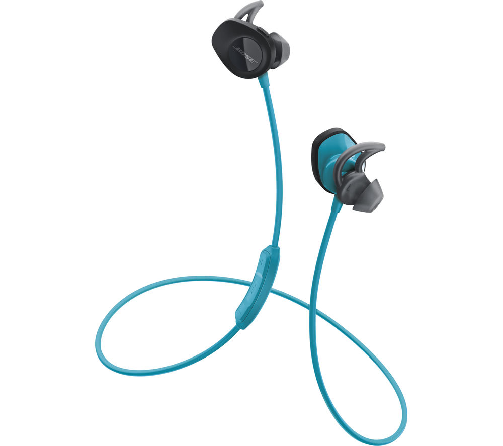 buy bose soundsport wireless bluetooth headphones aqua free delivery currys. Black Bedroom Furniture Sets. Home Design Ideas